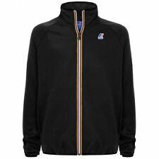 Felpa K-way LE VRAI ROMEO Maglia Jacket nero full zip uomo K008630