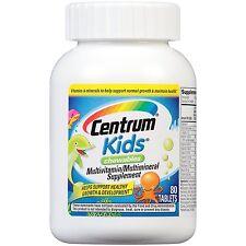 Centrum Kids Multivitamin/Multimineral Supplement  80 Tablets
