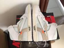 Blanc cassé x Nike AJ1 (air Jordan 1) Energy/NRG blanc - (Neuf)