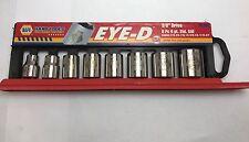 """NAPA Eye-D 3/8"""" Dr. 8 Pc. Standard Socket Set Sae - USA"""