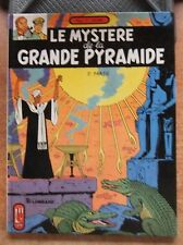 BLAKE ET MORTIMER : LE MYSTERE DE LA GRANDE PYRAMIDE T. 2 - REED. -1982- JACOBS