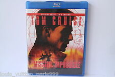 MISSION IMPOSSIBLE 1 BLU RAY DISC USED