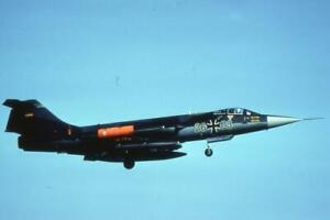 35mm Aircraft Slide German Air Force 2603 Lockheed F-104G Starfighter