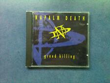Napalm Death - greed killing - CD USA 1995 - 1 Press / TOP - ZUSTAND !!!