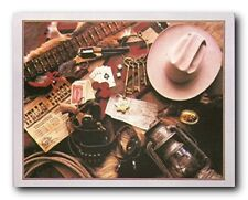 Old West Montage Stagecoach Western Wall Decor Art Print Poster (16x20)