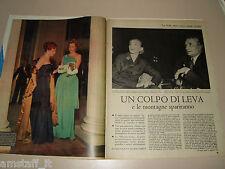 MARIA CALLAS TEATRO LA SCALA cantante clipping ritaglio articolo foto photo 1955