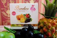 2X Authentic BumeBime Soap Natural Mask 100g.White Bright Skin Reduce Dark Spot.