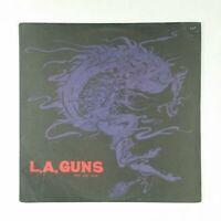 "L.A. GUNS Rip And Tear PRO7401 Masterdisk SRC Promo 12"" Vinyl VG++ Cover VG+"
