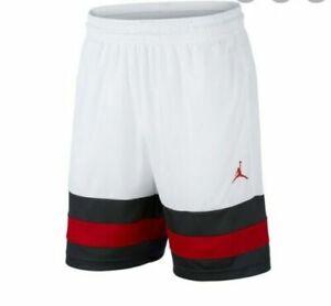 Nike Air Jordan Jumpman BASKETBALL SHORTS - WHITE CD4397 101      ** CHOOZE SIZE