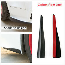 2xCar Bumper Corner Guard Protector Car Truck Decoration Strip Shark Fin sticker