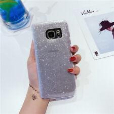 For Samsung Galaxy S8 S7 J3 J5 J7 Bling Glitter Soft Gel Phone Case Back Cover