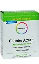 Rainbow Light Counter Attack - Powerful Immune Support - 30 Tablets