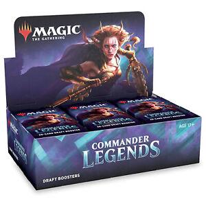 MTG Magic The Gathering Commander Legends Draft Booster Display BOX Sealed