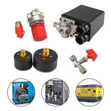 Air Compressor Pressure Switch Control Relief Valve Manifold Regulators Gauges