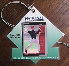 Morgan Ensberg 2001 National Sports Collectors Convention U.D. Corporate Pass