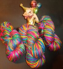 MOST COLOURFUL PURE SILK YARN FOR THAT SPECIAL PROJECT