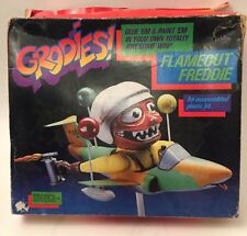 NEW 1983 Testors Grodies Model Kit -Flameout  Freddie- Based On 1960s Weird-Ohs