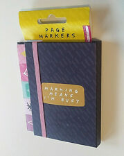 Page Markers & Sticky Notes Multi Colored Stationary Set Office School Gear NWT