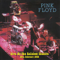 "PINK FLOYD : ""Live In Rainbow Theatre 1972"" (RARE 2 CD)"