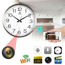 Wifi 1080P HD Hidden Wall Clock Camera DVR Motion Detection Nanny Record Cam