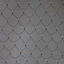 2x1m 160 LED Lichternetz Netz Vorhang Weihnachtsdeko Deko Beleuchtung für Außen