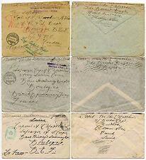 WW1 PoW INTERNMENT SWISS 1916-1917 BASE PRINTING + STATIONERY DEPOT BEF 3 COVERS