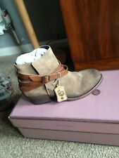 BNWB H By Hudson Horrigan Suede Ankle Boots Size 5