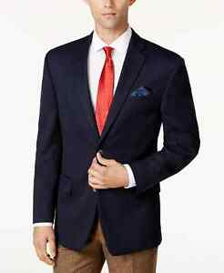 Men's Black and Blue Keith Suit Jacket Separates by Michael Kors Retail $295 NWT
