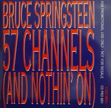 BRUCE SPRINGSTEEN : 57 CHANNELS (AND NOTHIN' NO) - [ PROMO CD SINGLE ]