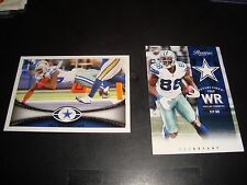 Des Bryant Football Card Lot of 2 Topps Prestige Mint Condition  Dallas Cowboys