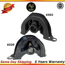 A6502, A6520 Engine Mount Set For Honda Civic CRV Acura Integra 1.6L 1.8L 2.0L