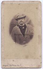 Froment Artiste primitif Montepellier France cdv Vintage albumine ca 1860