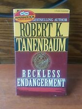 Reckless Endangerment audio cassette book Robert k tanenbaum