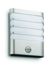 LED Wandaußenleuchte mit Bewegungsmelder, edelstahl, 3W/270lm