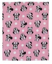 """Disney Minnie Mouse 40""""x50 Plush Ultra Soft Toddler Blanket only"""