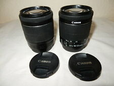 Perfect Condition Canon EF-S 18-55mm f/3.5-5.6 IS STM Lens
