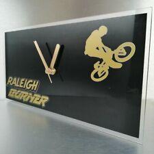 Lightweight Raleigh team aero pro burner BMX stunt bike wall clock 300x150x2mm*