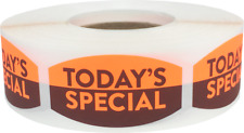 Today's Special Grocery Market Stickers, 0.75 x 1.375 Inches, 500 Labels Total