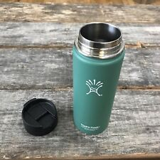 Hydro Flask 18 Oz 18/8 Stainless Vacuum Insulated Green Tumbler Flip Top Lid
