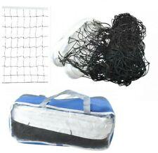 Volleyballnetz Badminton Netz Tragbares Tennisnetz  Federballnetz 9,5mx0,60m