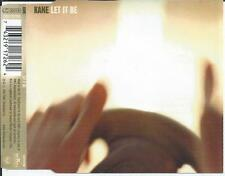 KANE - Let it be CD MAXI 5TR Enhanced 2002 HOLLAND RARE!!