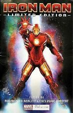 IRON MAN LIMITED EDITION GIVEAWAY PROMO COMIC RARE AUGMENT REALITY MOVIE