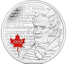 Lieutenant Colonel Charles de Salaberry - 25-cent Circulation 10-pack (2013)