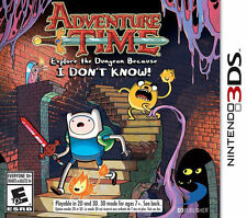 Adventure Time Explore the Dungeon Because I DON'T KNOW! (Nintendo 3DS) *NEW*