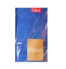 Coppia ASCIUGAMANI 1+Ospite GABEL 60x110 CM e 40x60 cm 460gr/mq colore BLUETTE