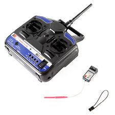 2.4G FS-T4B 4CH Radio Model RC Transmitter  Receiver Heli/Airplane Cool New