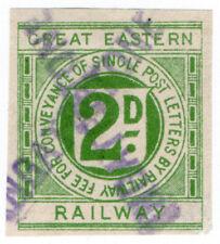 (I.B) Great Eastern Railway : Letter Stamp 2d (Ingatestone)