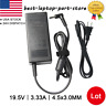 Laptop Powe Supply AC Adapter Charger For HP Pavilion 15 19.5V 3.33A 4.5*3.0 Lot