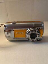 Canon PowerShot A470 7.1MP Digital Camera - Orange