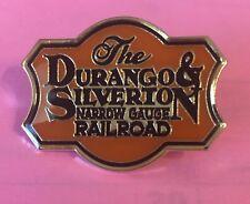 Railroad Hat-Lapel Pin/Tac -DURANGO & SILVERTON narrow gauge railroad #1735 -NEW